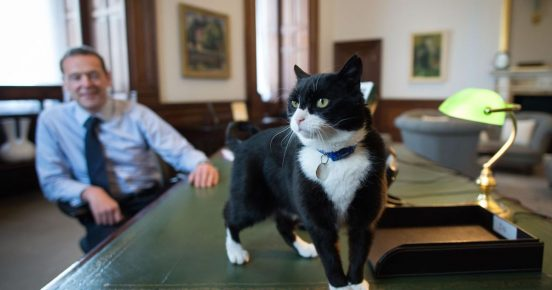 Palmerston in Simon MacDonald's office